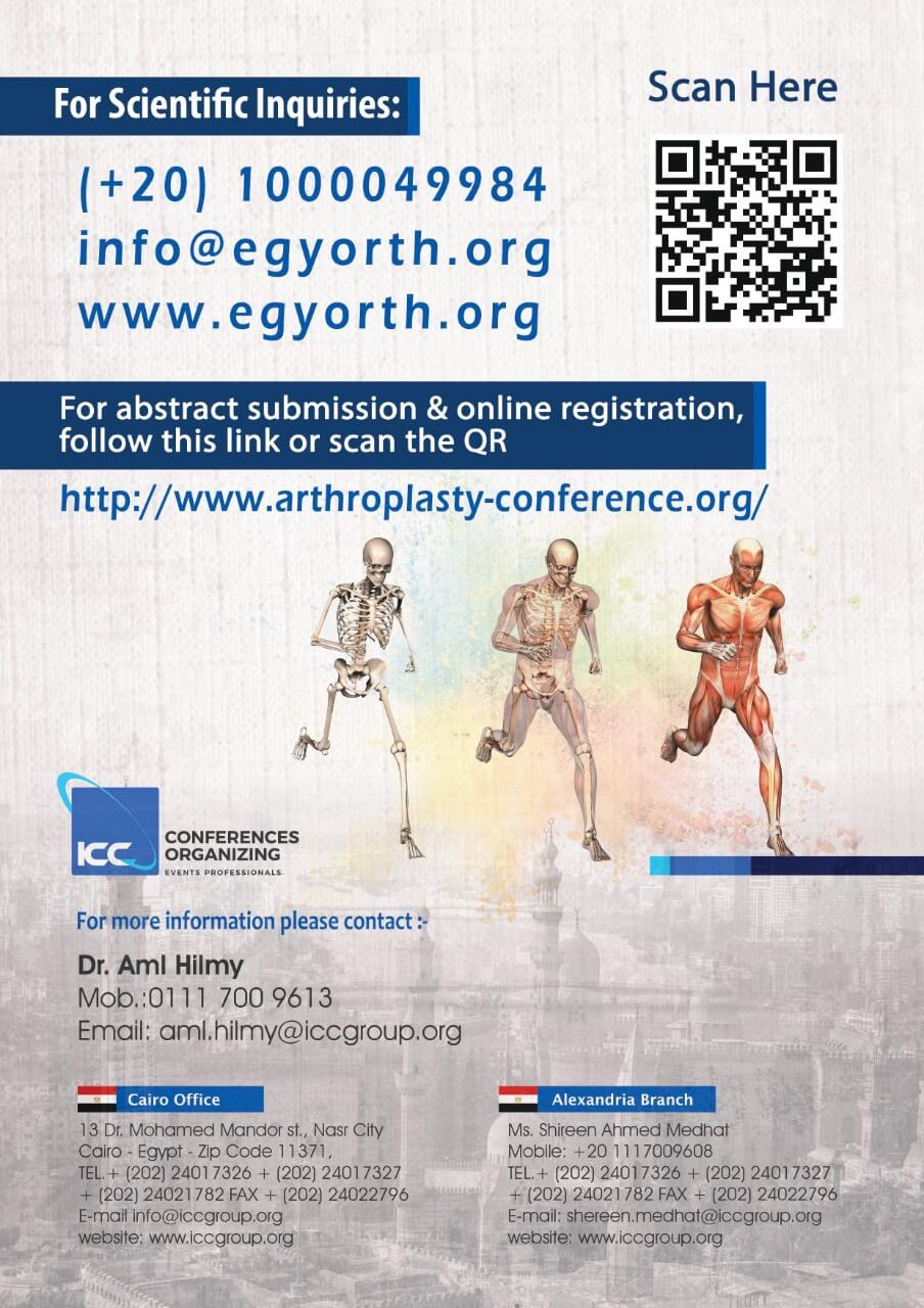 12th International Arthroplasty Conference